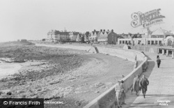 Porthcawl, The Promenade c.1955