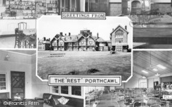 Porthcawl, The Rest Composite c.1955