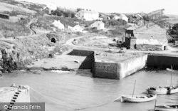 Harbour And Village c.1960, Porthgain