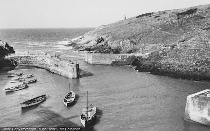 Photo of Porthgain, The Harbour c.1960