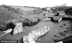 Porthgain, The Harbour c.1960