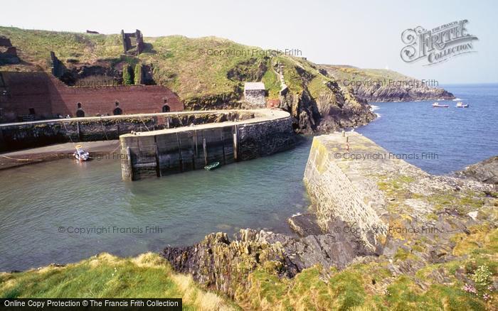 Photo of Porthgain, The Harbour c.2000