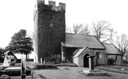 Porthkerry, St Curig's Church 1936
