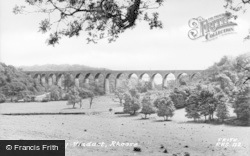 Viaduct c.1955, Porthkerry