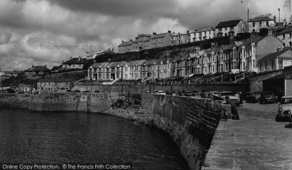 Photo of Porthleven, Bay Terrace c.1955