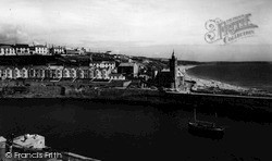 Porthleven, Bay View And Beach c.1955