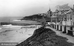 Porthleven, Beach Road c.1933