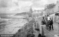 Porthleven, Beach View 1924