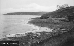 Porthleven, Beacon Crag And Coast 1911