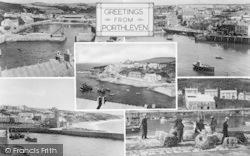 Porthleven, Composite c.1955