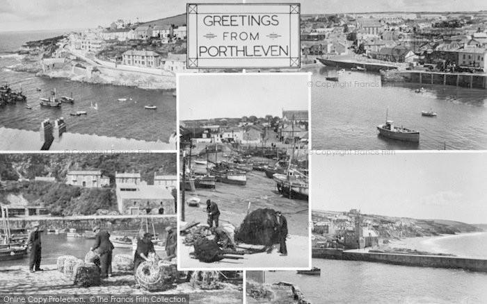 Photo of Porthleven, Composite c.1955