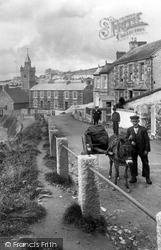 Porthleven, Donkey Cart 1924