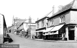 Porthleven, Fore Street 1935