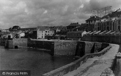 Porthleven, From The Clock Tower c.1955