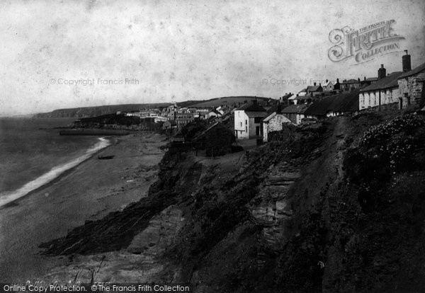 Photo of Porthleven, From The South 1890