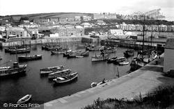 Porthleven, Harbour 1935