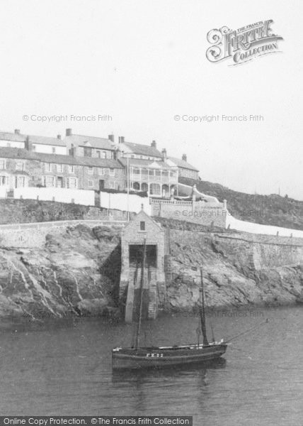 Photo of Porthleven, Lifeboat House 1908