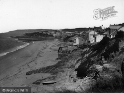 Porthleven, Looking West 1935