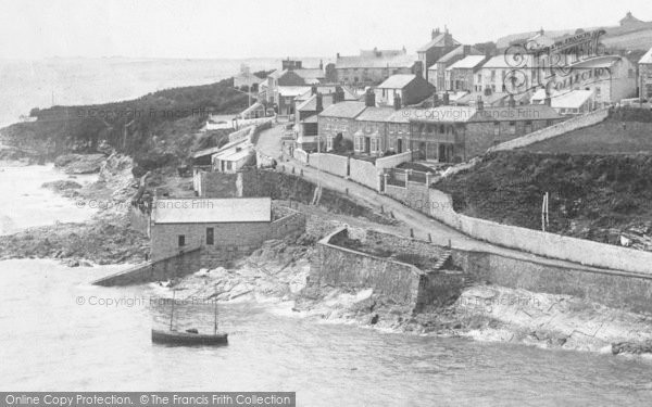 Photo of Porthleven, Mount Pleasant Road 1904