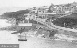 Porthleven, Mount Pleasant Road 1904