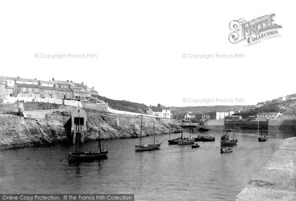 Photo of Porthleven, Outer Harbour And Lifeboat House 1908
