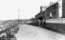Porthleven, Peverell Terrace 1907