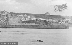 Porthleven, Pier And Bickford-Smith Institute Clock Tower 1890