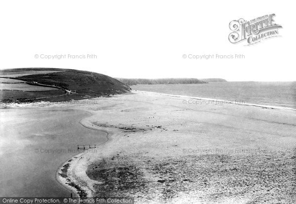 Photo of Porthleven, The Bar Sands 1895