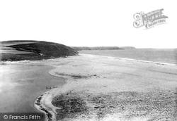 Porthleven, The Bar Sands 1895