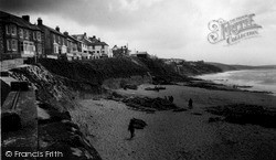 Porthleven, The Beach And Cliffs c.1955