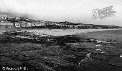 Porthleven, The Beach And Harbour c.1955