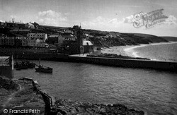 Porthleven, The Beach And Outer Harbour c.1955