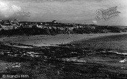 Porthleven, The Beach c.1955