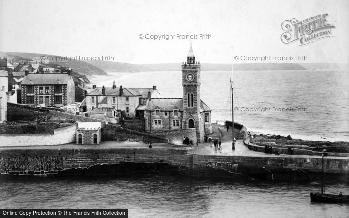 Photo of Porthleven, The Bickford Smith Institute 1904