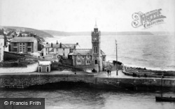 Porthleven, The Bickford-Smith Institute 1904