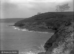 Porthleven, The Cliffs c.1933