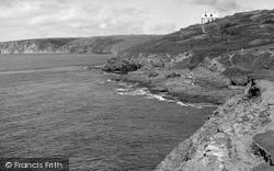 Porthleven, The Coast c.1955
