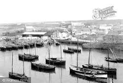 Porthleven, The Harbour 1890