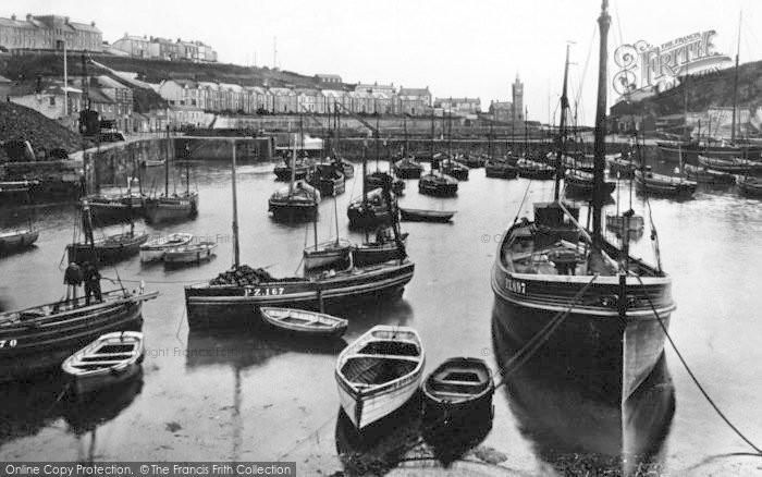 Photo of Porthleven, The Harbour 1924
