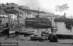 Porthleven, The Harbour 1935
