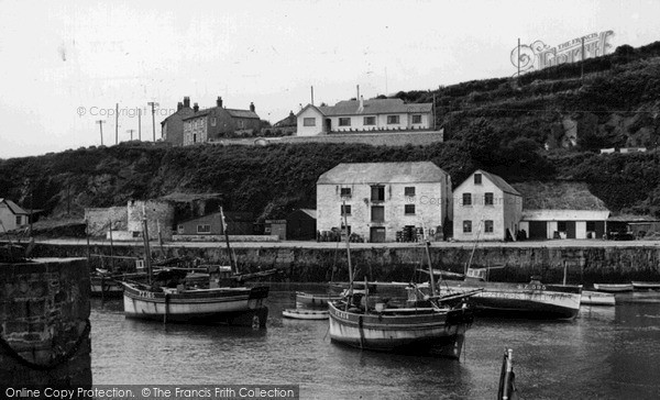 Photo of Porthleven, The Harbour c.1955