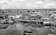 Porthleven, the Harbour c1955