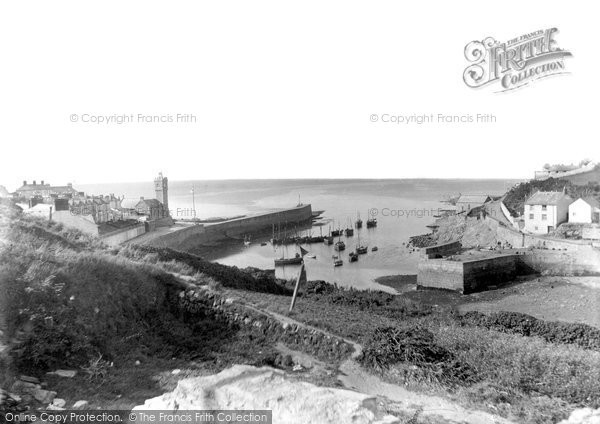 Photo of Porthleven, The Harbour Entrance 1890