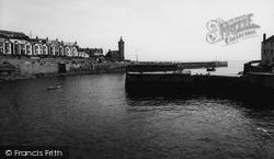 Porthleven, The Harbour Entrance c.1955