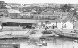 Porthleven, The Harbourside c.1955