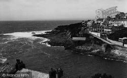 Porthleven, The Headland c.1955