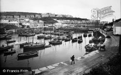 Porthleven, The Inner Harbour 1924