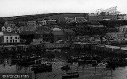 Porthleven, The Inner Harbour c.1955