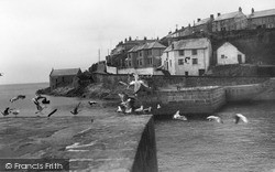 Porthleven, The Jetty c.1933