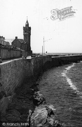 Porthleven, The Jetty c.1955